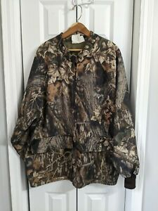 Men's Scent-lok Hunting Jacket Size XXL Brown Camouflage