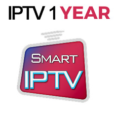 IP TV Subscription 12 Months For Smart TV And MAG