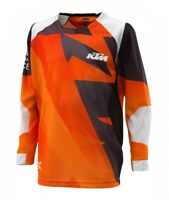 KTM Pounce Shirt Kids Orange Off road Motocross Motorcycle Jersey New!!