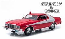 Coche Ford Gran Torino 1976 Del Película Starsky y Hutch de Metal a 1/18