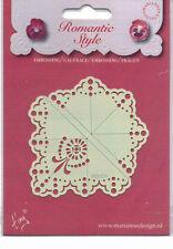 Marianne/Stencil/Romantic/Floral/Flower/Corner/emboss/Stitch/Embroider/EE3424