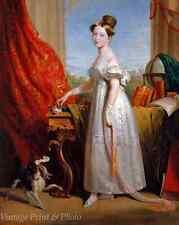 Queen Victoria as a Teen (14) by George Hayter Art Spaniel Dash 8x10 Print 0634