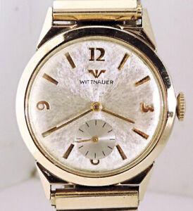 1960's Wittnauer Swiss 17 Jewels Men's Wrist Watch, Restored. Fine Condition!