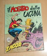 ED. BONELLI  SERIE  ZAGOR ZENIT 1° ED.  N°  93  1965  ORIGINALE  !!!!!
