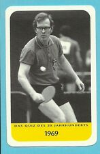 Eberhard  Scholer Table Tennis Ping Pong Cool Collector Card Europe Look!