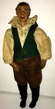 Antique SABA Bucherer Character Man Figure Doll Switzerland Original Clothes