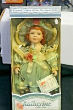 2002 Collectible Ltd Edition Timeless Treasures Katherine Collection Doll NEW
