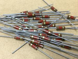 (42 PC) AB  RC20GF122J  Resistor Carb Comp 1/2W 1.2KOHM 5% NSN# 5905-00-141-0592