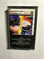 THE MODDY BLUES  DAYS OF FUTURE PASSED CASSETTE TAPE