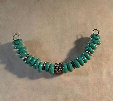 LGL Handmade Lampwork Beads - OP TEAL - Spacer - DIY - SRA - Artist  Loose Craft