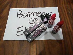 LE MAC BLACK CHERRY Lipstick DRAMARAMA MOODY BLOOM Limited edition (You Pick)