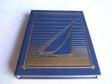 Easton Press LEGENDARY YACHTS Bill Robinson 1987 LEATHER Nautical Library FINE!