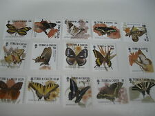 Turks & Caicos Islands-Butterflies-2001 SC# 1352-1366 MNH