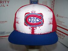 Montreal Canadiens SNAPBACK ADJUSTABLE HAT/CAP NHL -AMERICAN NEEDLE