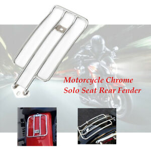 Motorcycle Solo Seat Rear Fender Luggage Rack Fit For Yamaha Suzuki High qaulity