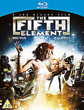 The Fifth Element - Blu-Ray DVD - As New - Bruce Willis - Milla Jovovich