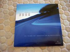 ACURA OFFICIAL RL TL TSX MDX RSX FULL PRESS KIT CD BROCHURE 2006 USA EDITION