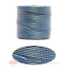 Carolina Blue 77 Yds. Super-Lon #18 Beading Crafting Stringing Crochet Cord
