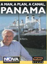A MAN A PLAN A CANAL PANAMA  DVD NEW from NOVA Featuring David McCullough