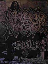 MORBID ANGEL - Affiche  Originale / Original Concert  Poster - 68 x 95