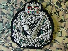 Royal Irish Regiment Blazer Badge (Bullion) (SN) RIR