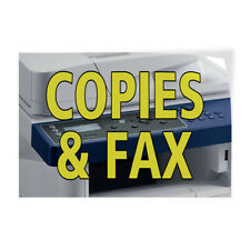 Decal Stickers Copies Amp Fax Outdoor Advertising Printing Vinyl Store Sign Label