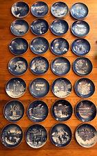 Bing Grondahl Lot Of 28 Vintage Jule After Christmas Plates 1968-1995