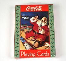 Coca Cola CARTE DA GIOCO MAPPE : USA Playing Cards SANTA M.GIOCATTOLO TRENO