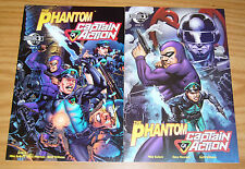 the Phantom/Captain Action #1-2 VF/NM complete series - all A variants - set