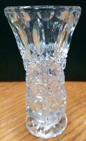 """Crystal Bud Vase 5"""" Tall"""