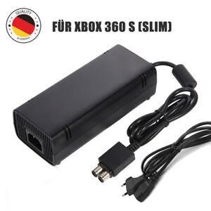 für Microsoft Xbox 360 S (Slim) Netzteil inkl. Stromkabel 135W