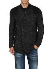 DIESEL K-BULINO BLACK CARDIGAN SIZE XL 100% AUTHENTIC