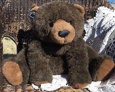 "Large Applause Teddy Bear Plush Stuffed Animal 1993 Excellent! 21"" High"