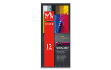 Caran d'Ache NEOPASTEL Soft Oil Pastel 12 Colors Ultra High Quality Artist
