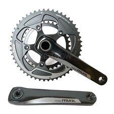 SRAM Rival 22 GXP Road CX Bike Crank set 2 x 11 Speed 175mm 50/34T Black