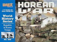 Imex 530 République de Corée Soldats Guerre de Corée 1/72 plastique Scale Model Kit