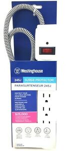 Westinghouse 6-Outlet All-Purpose Surge Protector 3 ft Cord 125v 15A w/ Switch