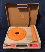Vintage 1978 Fisher Price Record Player Model 825 Kid Phonograph Turntable Works