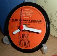 *new* THE HUMAN LEAGUE (Band) vinyl record CLOCK An actual original vinyl record