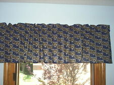 SAINT LOUIS RAMS NFL FOOTBALL Window Curtain Valance
