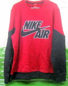 NEW 631906 687 Mens Nike Air Aw77 Basketball Crew Sweatshirt  MEN Size XL ***