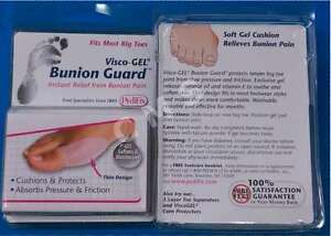 PEDIFIX Visco-Gel Bunion Guard Cushion Single Action Big Toe Pain Relief P46-L