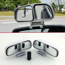2PCS Universal Car Parts Rear View Blind Spot Mirror Auxiliary Wide Angle Mirror