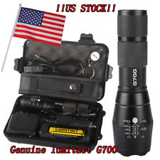 10000lm Lumitact G700 L2 LED Flashlight LanternaTactical Military Grade Torch