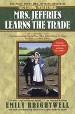 Mrs. Jeffries Learns the Trade by Emily Brightwell (2005, TP) 1st 3 Books in 1!