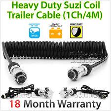 4 Meter Suzi Coil Trailer Cable 4PIN Connectors For Truck Trailer Caravan Towing