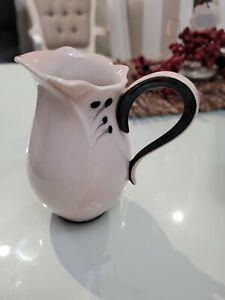Franz Porcelain Camellia Blossom Soft Pink FZ02385E Creamer (New)