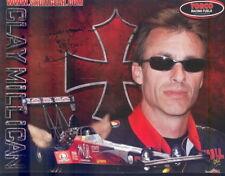 2008 Clay Millican Sinfuel Choppers Top Fuel NHRA postcard