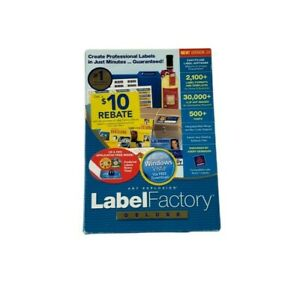 New Art Explosion Label Factory Deluxe Version 3.0 for Windows (P1)