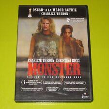 DVD.- MONSTER - CHARLIZE THERON - 1 OSCAR